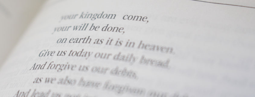 photo regarding Printable Copy of the Lord's Prayer called 7 causes in the direction of say the Lords Prayer every single working day - Bishop