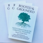 Routed and grounded book cover