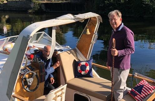 Bishop Boat Pilgrimage